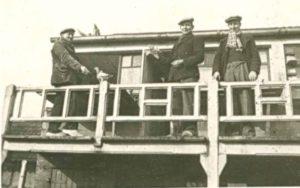 Louis Boffé, August Boffé en Rik Laudes, stichters van de maatschappij